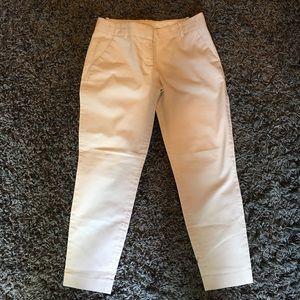 J.Crew cargo pants off white